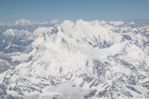 Nepal - Witte pieken