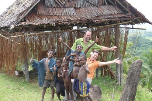 PNG - enthousiaste kinderen