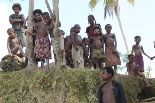 PNG - groep kinderen