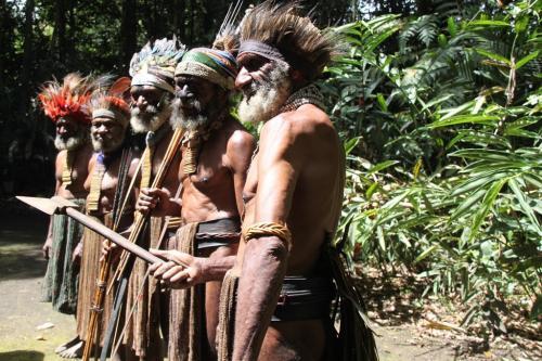 PNG - oude krijgers