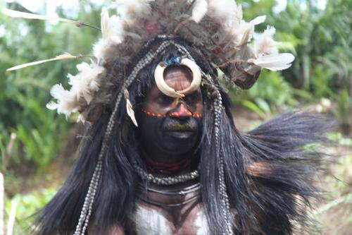 PNG - portret krijger