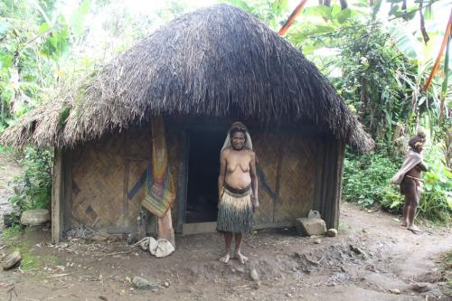 PNG - woman's house