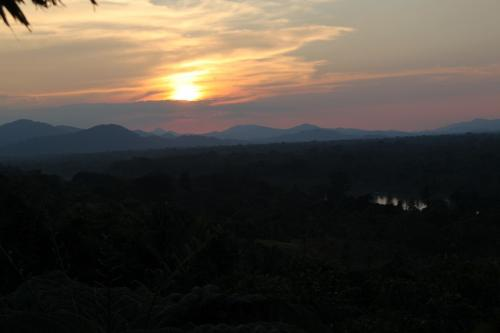 PNG - zonsondergang