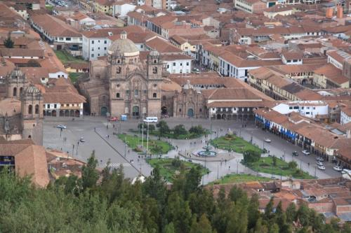 Peru - Cusco plaza