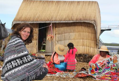 Peru - Rieteiland familie