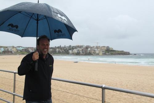 Sydney - Bondi beach regenscherm