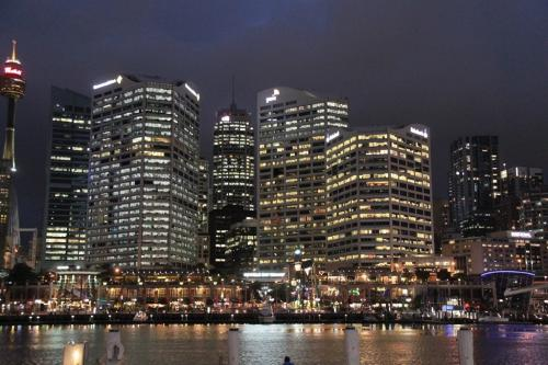 Sydney - Darling harbour at night