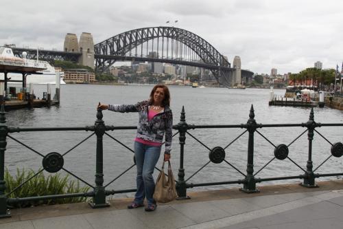 Sydney - Harbour bridge & dede