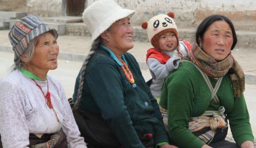 Tibet - 4generaties