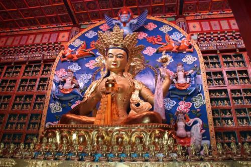 Tibet - Boeddha closeup