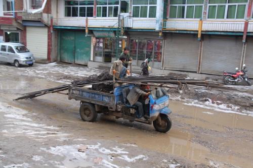 Tibet - Driewieler Langmusi