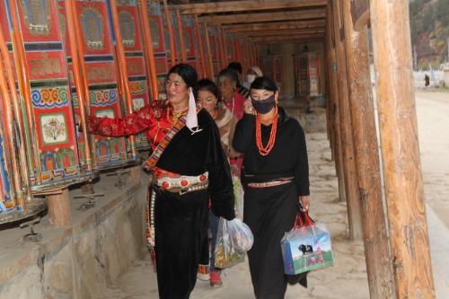 Tibet - Gebedsmolen