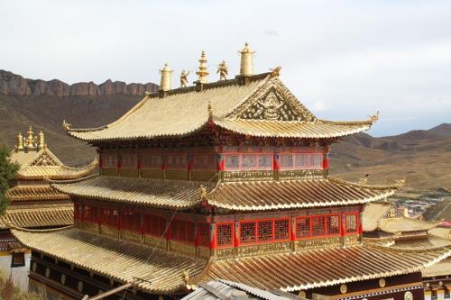 Tibet - Langmusi klooster