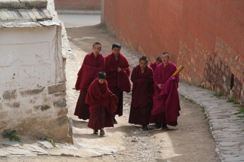 Tibet - Monniken