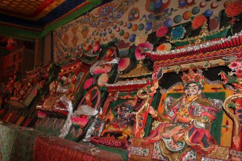 Tibet - budda beelden