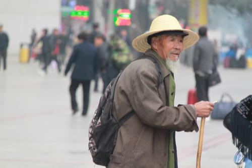 Tibet - centrum oude man
