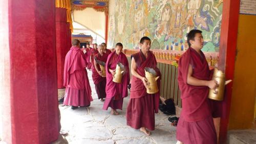 Tibet - eten monniken