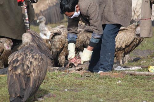 Tibet - luchtbegrafenis
