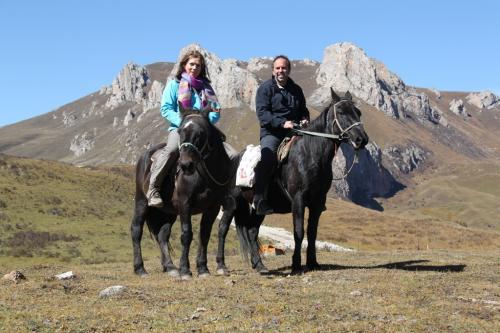 Tibet - te paard