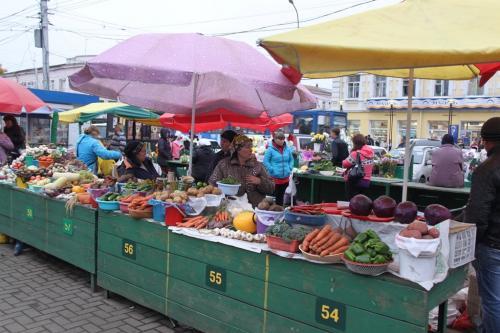 Trans Siberian - groentemarkt