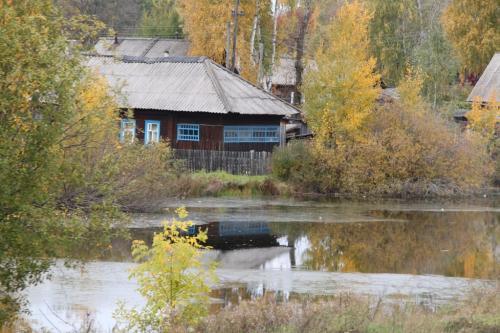 Trans Siberian - huis rivier