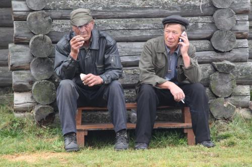 Trans Siberian - sigaret roken