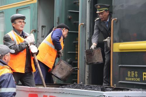 Trans Siberian - steenkool trein