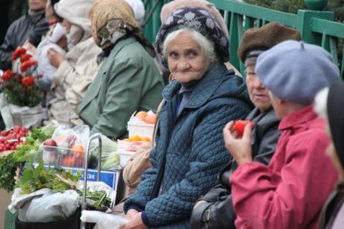 Trans Siberian - vrouwen markt