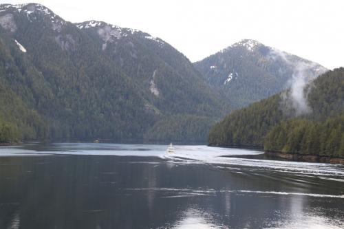 Vancouver Island - Inside passage river