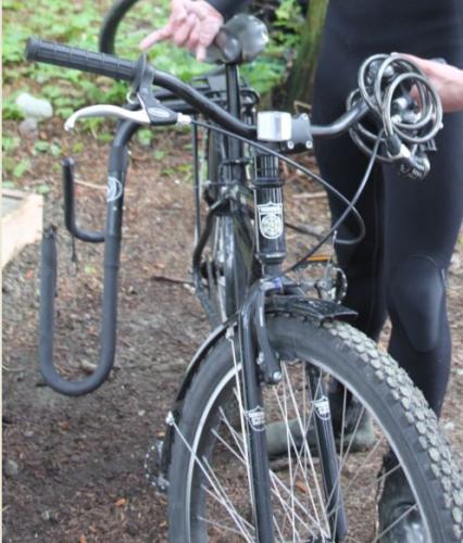 Vancouver Island - fiets met haken