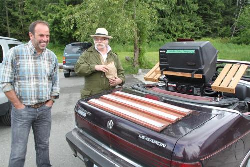 Vancouver Island - gas barbecue