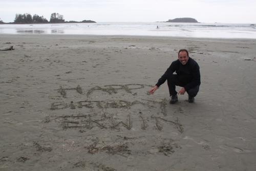 Vancouver Island - verjaardag Erwin
