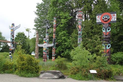 Vancouver - Totem paal