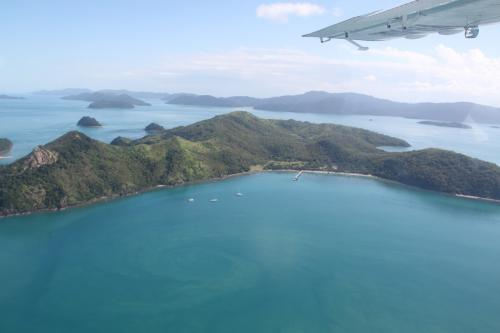 Whitsundays - flight view