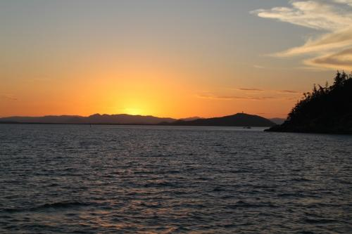 Whitsundays - zonsondergand