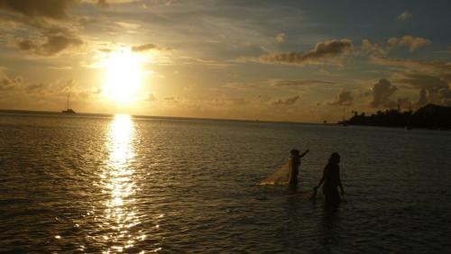 Wrap up - Sunset fisherman