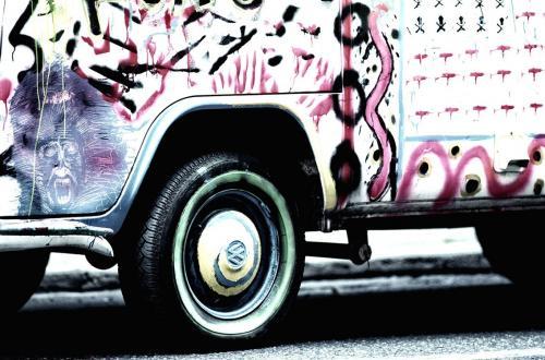Australia hippy bus