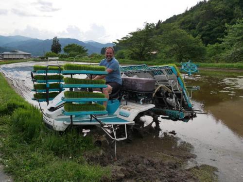 rijstplantmachine
