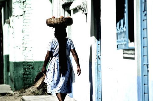 Zuid america werkend vrouw