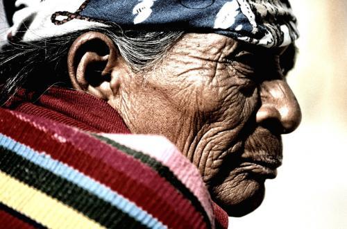 Zuid Amerika local person